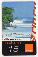 REUNION RECHARGE ORANGE 15€ Date 07/2003