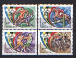Uzbekistan 1996 Unif.115/18 **/MNH VF - Uzbekistán