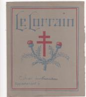 PROTEGE - CAHIER  - LE LORRAIN  - Croix De Lorraine - Table De Multiplication - Protège-cahiers