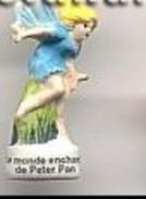 Fève La Légende De Peter Pan Mat La Fée Clochette 2004 - Personen
