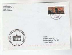 GERMANY COVER Stamps VOLUNTEER FIREFIGHTER Firefighting Firemen - Firemen