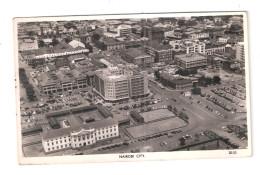 Uganda Kenya Tanganyika USED STAMPS Kenya NAIROBI CITY1950s Postcard - Kenya