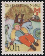 Czechoslovakia / Stamps (1975) 2150: Biennale Of Illustrations Bratislava (30 H) Painter: Lieselott Schwarz