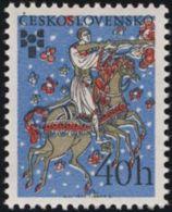 Czechoslovakia / Stamps (1975) 2151: Biennale Of Illustrations Bratislava (40 H) Painter: Val Munteanu