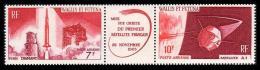 Space. Wallis Et Futuna 1966 Mi.209-10 MNH**