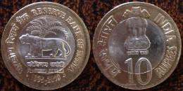 (J) INDIA: 10 Rupees BIM 2010 BU (1172) - Inde