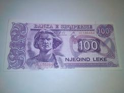 ALBANIA 100 LEKE P-55c  BANKNOTE LOC#A1068 - Albanien