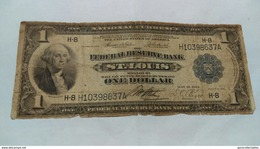 1914 1918 $1 NATIONAL CURRENCY ST. LOUIS FEDERAL RESERVE BANKNOTE - National Currency (1915-1918)