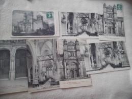 LOT DE 7 CARTES PYRENEES ..VETHEUIL...L'EGLISE - Cartes Postales