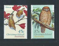 Christmas Island 1996 Bird Set Of 2 MNH - Christmas Island