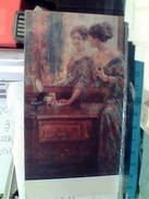 ILLUSTRATA ULISSE ULYSSE CAPUTO VIOLANTE  N1910 FR6594 - Pintura & Cuadros