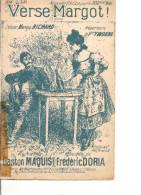 Partition- Verse Margot - Paroles: G. Maquis  -- Musique: F. Doria- - Non Classés