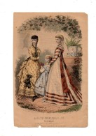 Magasin Des Demoiselles. 2 Gravures De Mode. 1868. - Estampes & Gravures