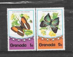 Grenada 1975 Y&T  Nr° 626,627 ** - Grenade (1974-...)