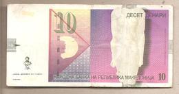 Macedonia - Banconota Circolata Da 10 Denari P-14i - 2011 - Macedonia