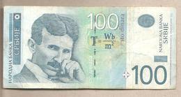 Serbia - Banconota Circolata Da 100 Dinari - 2013 - Serbia