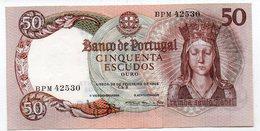 PORTUGAL : 50 Escudos 1964 (aunc) - Portugal