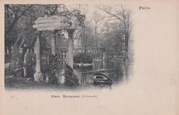 G , Cp , 75 , PARIS , Parc Monceau (Colonnade) - Parcs, Jardins