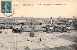 """Port De Boulogne Sur Mer Bateau Danois """" Emanuel """" D.A.E Ohlsen CONSTRUIT EN 1907 Helsingör  Danemark - Koopvaardij"""