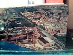 MARINA DI CARRARA PORTO BACINO CARENAGGIO NAVE SHIP IN COSTRUZIONE CANTIERI NAVALI  VB1978 FR6617 - Carrara