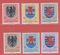 1956 ** (sans Charn., MNH, Postfrisch)  Yv  520/5    Mi  561/6