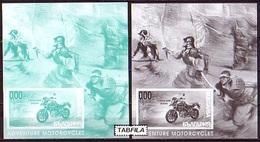 BULGARIA / BULGARIE - 2016  - Motorbikes - 2 Bl Souvenire - Motorbikes