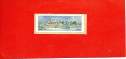 NEVERS (NIEVRE) : BILATERALE FRANCE-ALLEMAGNE 2006 VIGNETTE D'AFFRANCHISSEMENT LISA Illustrée 0.53E