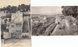 -02- Chateau Thierry  10 Cartes (le Chateau )lot Vrie Et Scanne - Chateau Thierry