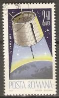 ROUMANIE   -  Satelitte  EARLY BIRD  -    Oblitéré - Space