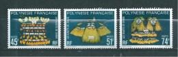 Polynésie  De 1979  N°138 A 140  Neufs ** - Französisch-Polynesien