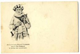 ILLUSTRATEUR    ILL  473  /  L. EDOUARD FOURNIER    /  COLLECTION  VIN  MARIANI     CPA 9 X 14  VIERGE TBE - Autres Illustrateurs