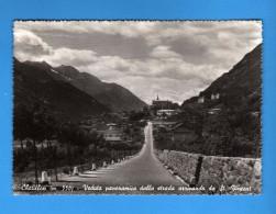 Valle D´Aosta -  Chatillon -  Veduta Panoramica Dalla Strada Arrivando Da St. Vincent.   Vedi Descrizione. - Italia