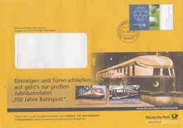 Germany Cover Franked W/2006 World Cup Football Germany P/mWeiden 2006 (LAR1-A)