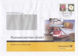 Germany Postal Stationary Flowers - Used (LAR1-A)