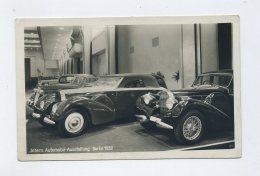 1939 3.Reich Photokarte Automobilausstellung IAA Berlin Mit Bugatti Cabriolets Mit Mi 688 EF - Briefe U. Dokumente