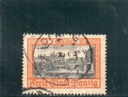 DANTZIG 1924-5 O - Danzig