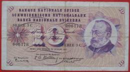 10 Franken 1955 (WPM 45a) - Suiza