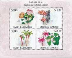 Comores N° 1959/62, Flore De La Région De L'océan Indien, Fleurs, Flowers