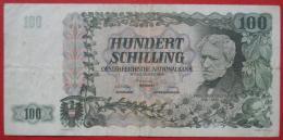 100 Schilling 12.1.1954 (WPM133a) Franz Grillparzer - Autriche