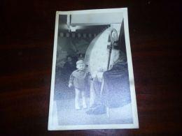 LC171 BC5-2-25 Carte Photo Enfant Avec Saint-Nicolas Sinterklaas Santa Claus - Nikolaus