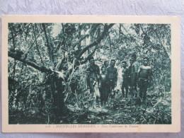 NOUVELLES HEBRIDES . DANS L INTERIEUR DE TOMAN - Postcards