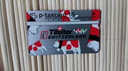 Phonecard Zwitserland Tisiter 425 L Rare - Suisse