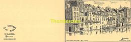 LOT DE 4 IMAGE / DESSIN DE HERMAN MARCEL 1982 FORMAT CPM CHARLEROI - Cartes Postales
