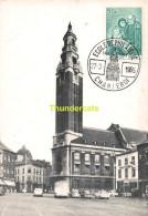 CPSM 1965 ECOLE DE PHILATELIE DE CHARLEROI LE BEFFROI - Cartes Postales