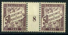 FRANCE ( MILLESIME ) : Y&T  TAXE  N°  37  MILLESIME 1928 ? TIMBRES  NEUFS/MH  AVEC TRACE DE CHARNIERE ,  A  VOIR . - Millésimes