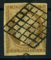 FRANCE ( POSTE ) : Y&T  N°  1   TIMBRE  BIEN  OBLITERE ,   A  VOIR .