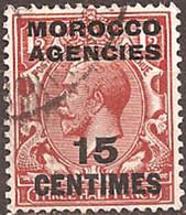 GREAT BRITAIN (MOROCCO AGENCIES)..1925..Michel # 213...used. - Morocco Agencies / Tangier (...-1958)