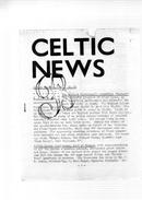 Celtic News.Autumn Edition,1968.n°19.broché.12 Pages. - Espiritualismo