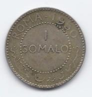 Somalia - AFIS 1 Somalo - 1950- Roma- Silver-BB - Somalia
