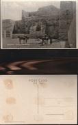 7854) PALESTINE CHURCH OF THE NATIVITY PALESTINA CHIESA NATIVITA' ESTERNO NON VIAGGIATA 1930 CIRCA CRAQUELET SUL LUCIDO - Palestina